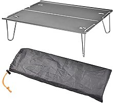 JUSTHUI Table pliable portable Camping Voyage