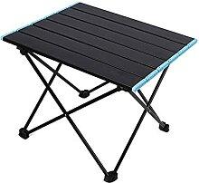 JUSTHUI Table pliante de camping multifonctionnel