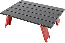 JUSTHUI Table pliante en alliage d'aluminium