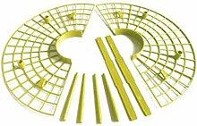 JVSISM 10Pcs / Set Usine Outil en Plastique Fraise