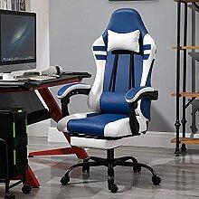 JYHJ Chaise de bureau en cuir synthétique -