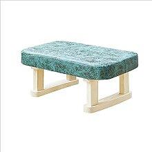 JYHJ Tabouret bas en bois massif pour canapé,