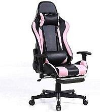 JYHQ Chaise de bureau ergonomique pour gamer avec