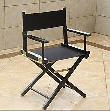 JYHQ Chaise haute pliante en toile - Chaise de