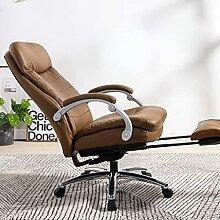 JYHQ Fauteuil de bureau inclinable et ergonomique
