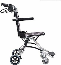 JYHQ Fauteuil roulant autopropulsé en aluminium