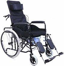 JYHQ Fauteuil roulant léger et pliable, portable