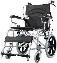 JYHQ Fauteuil roulant pliable avec siège souple
