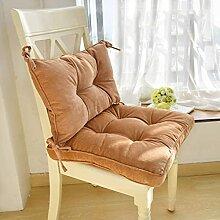 JYHQ Galette de chaise en toile antidérapante,