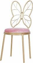 JYHQ Tabouret de bar en velours - Chaise de bar