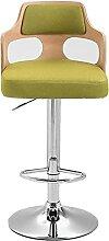 JYHZ Tabouret de bar, chaise de bureau, chaise