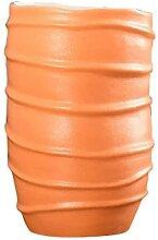 JYHZ Vase orange décoratif de style moderne en