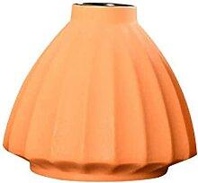 JYHZ Vase orange moderne en céramique pour