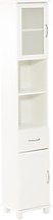 JYSK Armoire salle de bain SKALS 35x188 blanc