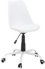 JYSK Chaise de bureau BLOKHUS blanc