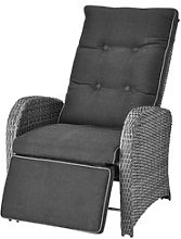 JYSK Fauteuil inclinable COLOMBO gris