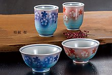 K5-530 Kutani Pottery Ensemble bol et tasse en