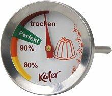 Käfer T512C Thermomètre pour Cuisson Acier