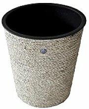 Kablo Cache-pot rond en sisal torsadé avec insert