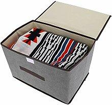 Kadimendium Boîte de Rangement de vêtements