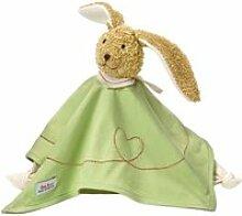 Käthe kruse poupée à serviette bunny pino vert