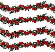 Kaftor, Fleur Artificielle, Guirlande De Roses