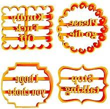 Kagodri Moule à biscuits anglais, amusant et