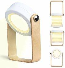 Kakanuo Lampe de table en forme de lampe, lampe de
