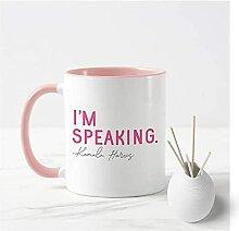 Kamala Harris tasse à théje parle drôle
