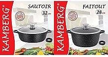 Kamberg - 0008042 - Sautoir 32 cm - Fonte