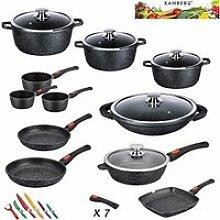 Kamberg - 0008162 - Set Lot Batterie de cuisine 27
