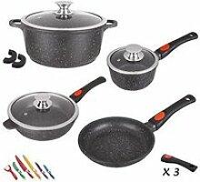 Kamberg - 0008166 - Set Lot Batterie de cuisine 10