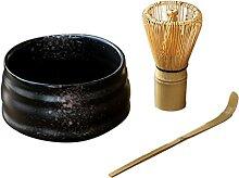 Kamenda Set de thé en poudre de matcha bio