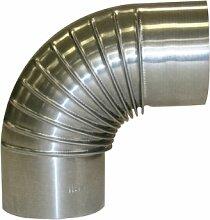 Kamino-Flam Tuyau de Poêle Coude Ø env. 110 mm,