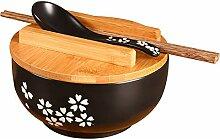 KAMONDA Style Japonais Vaisselle en Céramique Bol