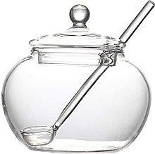 KANGNING Sel de Verre Shaker 250ml Crystal Jar