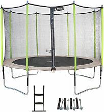 Kangui - Trampoline de jardin 365 cm + filet de