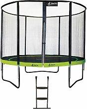 Kangui - Trampoline de jardin rond 305 cm + filet