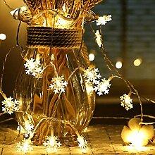 Kansang Guirlande lumineuse 40 LED à piles -