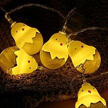 Kansang Guirlande lumineuse à 20 LED - En forme