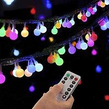 Kansang Guirlande lumineuse solaire LED avec 8