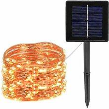 Kansang Guirlande solaire d'extérieur à LED