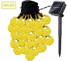 Kansang Guirlande solaire de jardin - Étanche -