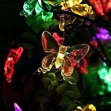 Kansang Lot de 20 lampes LED en forme de papillon