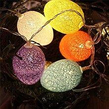 Kansang Lumières LED décoratives pour Pâques -