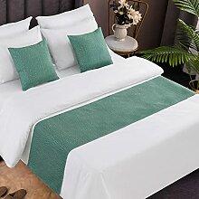 KaO0YaN Literie Moderne Bed Runner, Écharpe De