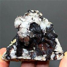 KAPU 100% Naturel Spéculaire Hématite Et Cristal