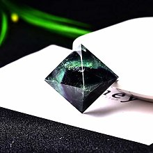 KAPU 1Pc Cristal Naturel Diamant Quartz Pierre De
