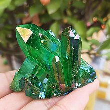 KAPU 78Grammes Naturel Ange Vert Aura Quartz