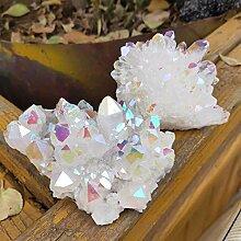 KAPU Cluster de cristal 230 g Aura Naturelle Ange